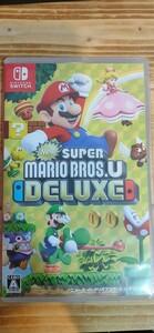 NewスーパーマリオブラザーズUデラックス Nintendo Switch
