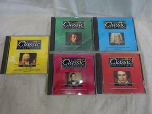 FG728 THE CLASSIC COLLECTION ショパン ヘンデル ベートーヴェン シューベルト ヴィヴァルディ 5点 CD クラシック シンフォニア