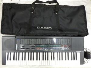 FG825 【動作可能】CASIOカシオ 電子キーボード CT-650 トーンバンク 61鍵盤 中古 本体+ACアダプタ+専用カバー 3点セット