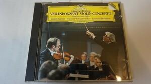 C0060/ブラームス / ヴァイオリン奏 曲ニ長調作品77 ブラームス(1833-1897) BRAHMS VIOLINKONZERT 410029-2