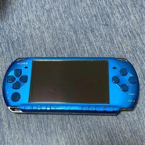 PSP-3000 SONY ブルーソニー PSP本体 プレイステーションポータブル(ソフトおまけ付き)