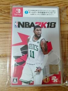 NBA 2K18 Switch スイッチソフト バスケットボール
