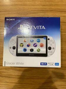 PS Vita PCH-2000 Wi-Fiモデル PlayStation Vita グレイシャー ホワイト