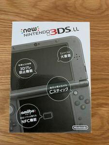 Newニンテンドー3DS LL ブラック メタリック new NINTENDO 3DS LL