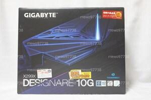 【新品】GIGABYTE X299X DESIGNARE 10G LGA2066 10Gbps LAN X550-AT2 Thunderbolt3 無線LAN Wi-Fi6 E-ATX マザーボード