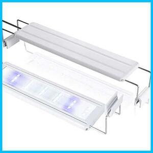 LEDGLE 水槽ライト ledアクアリウムライト 10W 39個LED 50~60cm対応 熱帯魚/観賞魚飼育・水草育成・水槽照明用 省エネ 長寿命 (39LED灯)