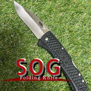 SOG TRACTION フォールディングナイフ ソグ 折りたたみナイフ