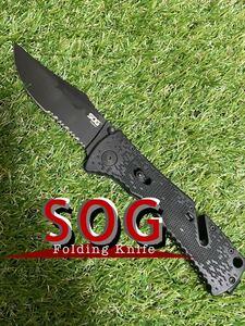 SOG TRIDENT ソグ フォールディングナイフ 折りたたみナイフ