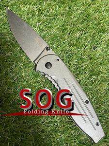 SOG AEGIS FL ソグ フォールディングナイフ 折りたたみナイフ