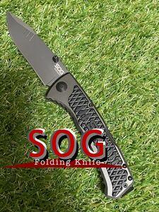 SOG SIDESWIPE ソグ フォールディングナイフ 折りたたみナイフ