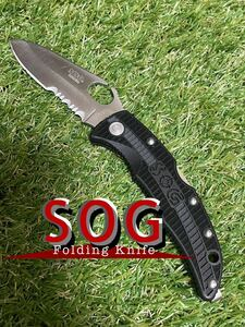 SOG SOGZiila ソグ フォールディングナイフ 折りたたみナイフ