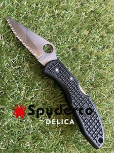 Spyderco DELICA スパイダルコ フォールディングナイフ 折りたたみナイフ
