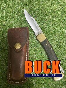 BUCK HUNTER110 バックナイフ フォールディングナイフ 折りたたみナイフ