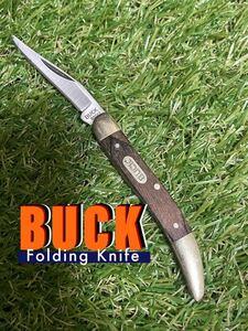 BUCK Knife #909 Folding Knife フィレット ミニナイフ バックナイフ フォールディングナイフ