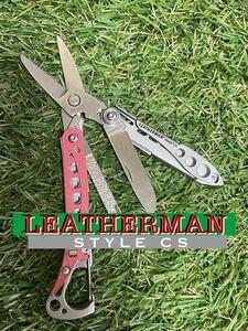 LEATHERMAN STYLE CS Pink レザーマン マルチツール ハサミ