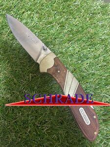 SCHRADE #001 Old Timer シュレード フォールディングナイフ 折りたたみナイフ