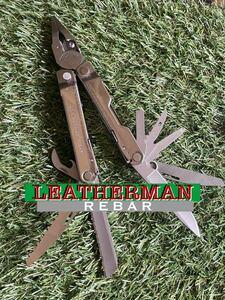 LEATHERMAN REBAR レザーマン マルチツール マルチプライヤー ツールナイフ