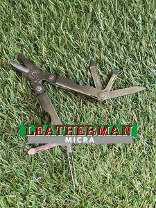 LEATHERMAN MICRA NewType レザーマン マルチツール ツールナイフ マイクラ