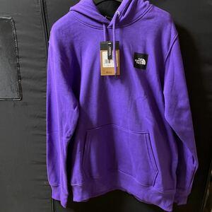 THE NORTH FACE ザノースフェイス パーカー パープル 紫 メンズ Mサイズ 未使用 長袖 冬物