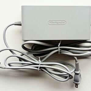 Wii U AC アダプタ 任天堂 純正 被覆剥がれ 破れなし