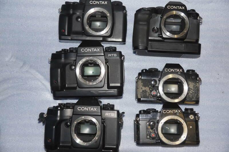 ジャンク!! CONTAXカメラ6台