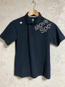 送料無料 美品 DESCENTE ムーブスポーツ MOVE SPORT 半袖 ポロシャツ ウエア レディース サイズM