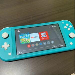 Nintendo Switch NINTENDO SWITCH LITE ターコイスあつまれどうぶつの森 ダウンロード版 付き