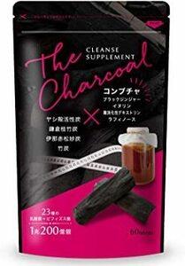 限定価格!クレンズサプリメント THE CHARCOAL 炭 ダイエット サプリ 乳酸菌 1兆200億個 コンブチャ 60C2KQ
