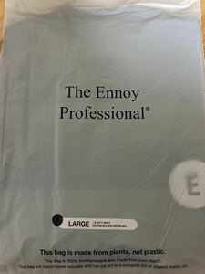 the ennoy professional circle E s/s T shirt black L サイズ tシャツ サークル ロゴ logo エンノイ スタイリスト私物