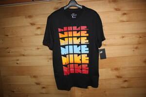 未使用ナイキNIKE メンズL ゴツナイキ6連ロゴ 半袖Tシャツ CV1999 送料無料即決