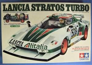 T-110 タミヤ 1:24スポーツカーシリーズ NO.3 ランチア・ストラトス・ターボ