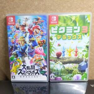 Nintendo Switch 大乱闘スマッシュブラザーズSPECIAL+ピクミン3デラックス