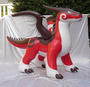 Puffy Paw製 inflatable zenith dragon 正規品 空ビ