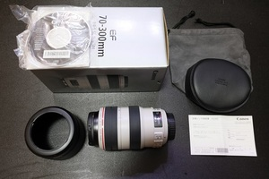 Canon EF 70-300mm F4-5.6 L IS USM キヤノン