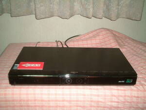 <DVD難有り>1ヶ月保証 シャープ BD-HDW73  HDD/DVD/ブルーレイ/ レコーダー 2番組同時録画  320GB B-CASカード付き