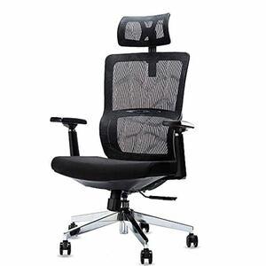 新品★椅子 オフィスチェア リクライニング ヘッドレスト 3D可動式アームレストメッシュチェア ゲーミングチェア