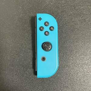 Nintendo Switch Joy-Con ネオンブルー ニンテンドー スイッチ ジョイコン 右