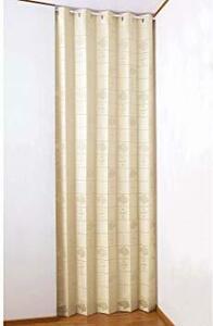 新品つっぱり のれん 階段 コモライフ アコーディオン式の間仕切りカーテン 約幅100×高さ250cm RMUY