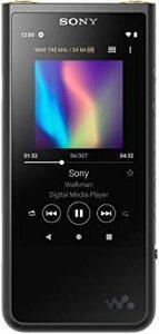 ブラック ソニー ウォークマン 64GB ZXシリーズ NW-ZX507 : ハイレゾ対応 高音質設計 / bluetooth
