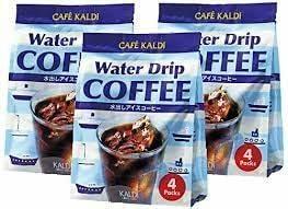 カフェカルディ ウォータードリップコーヒー (水出しアイスコーヒー) (40g×4p)×3個 【3個セッ