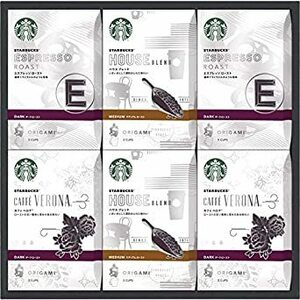 スターバックス オリガミ パーソナルドリップ コーヒーギフト 【スタバコーヒー スタバ珈琲 ドリップ珈琲 つめあわせ 詰合 詰め