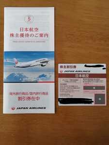 JAL 株主優待 1枚 日本航空 有効期限2022年11月30日 株主割引券