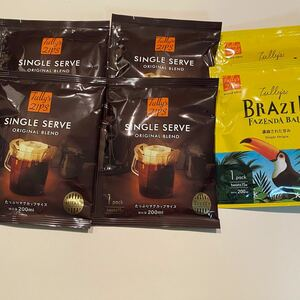 タリーズ インスタントコーヒー6袋セット