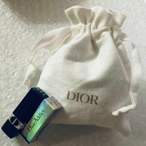 Dior ディオール リップ ノベルティ 非売品 巾着ポーチ Christian Dior 口紅 ミニチュア ミニサイズ