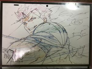 Fate/zero period ufotable dining A3 place mat Lancer dill mdo