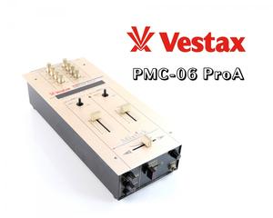 【通電OK】 Vestax ベスタックス PMC-06 ProA DJミキサー Mixtick ミックスティック 楽器 器材 音楽 FCCS68