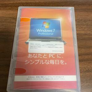 Microsoft Windows7 Professional 64bit 日本語 DSP版 ライセンスあり