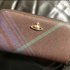Vivienne Westwood 長財布 ヴィヴィアンウエストウッド 財布 チェック