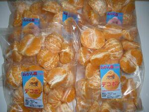 訳あり 冷凍デコポン(不知火) 宮崎県産 ご自宅用 ご家庭用 5kg(1kg×5袋)