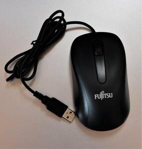 富士通 FUJITSU M520 USB光学式マウス 3ボタン:動作確認済